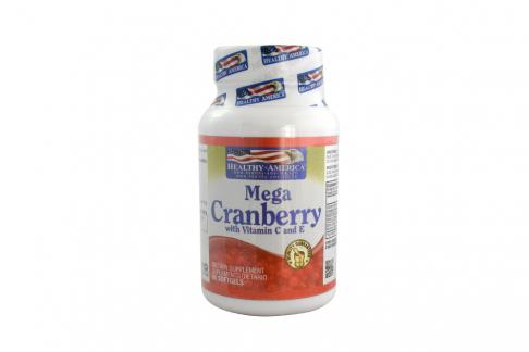 Mega Cranberry Frasco Con 60 Cápsulas