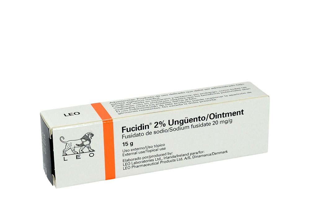 Fucidin Ungüento 2% Caja Con 1 Tubo Con 15 g Rx2