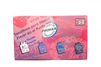 Condones Surtidos Caja Con 25 Unidades