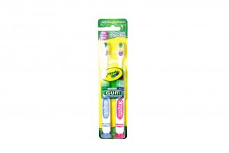 Cepillo Dental Gum Crayola Caja Con 2 Unidades