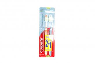 Cepillo Dental Colgate Extra Clean Caja Con 2 Unidades
