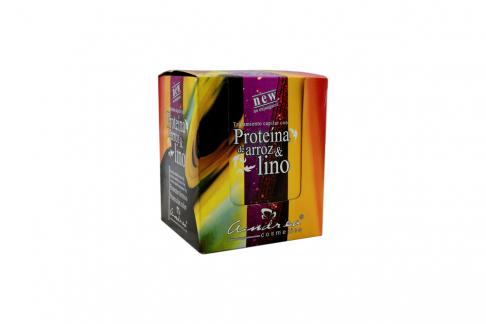Tratamiento Capilar Con Proteína De Arroz Y Lino Caja Con 12 Unidades