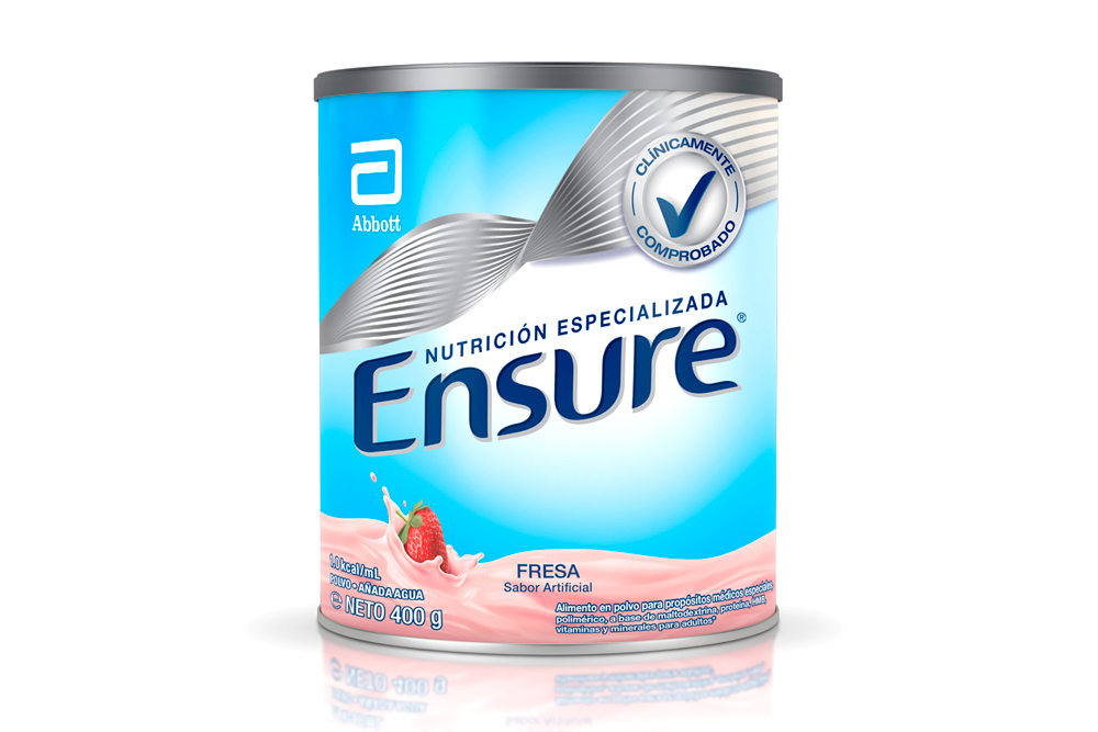 Ensure Sabor Fresa Tarro Con 400 g