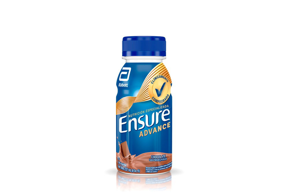 Ensure Advance Nutrición Especializada Frasco Con 237 mL – Sabor Chocolate