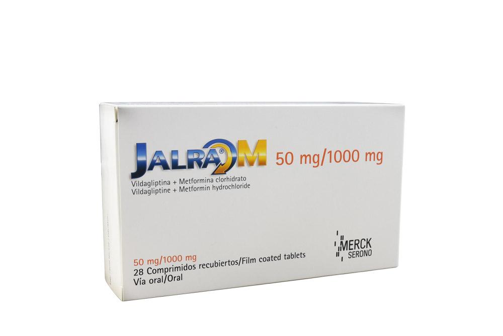 Jalra M 50/1000 mg Caja Con 28 Comprimidos Recubiertos Rx