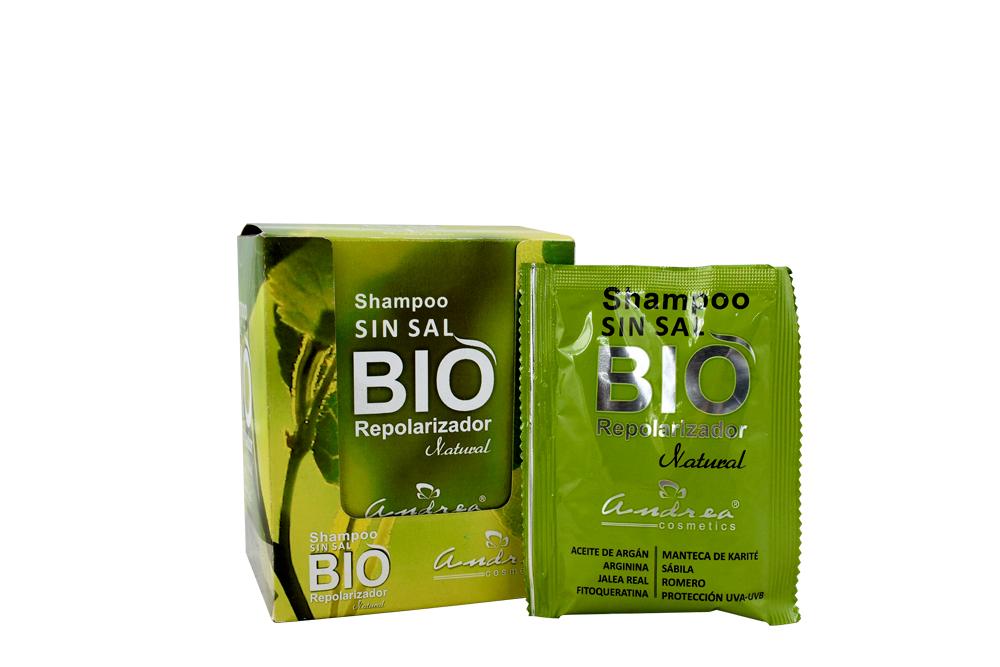 Shampoo Andrea Sin Sal Caja Con 12 Sobres Con 30 g C/U