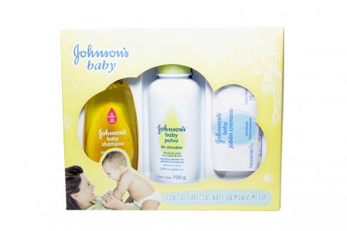 Estuche Johnson Baby Caja Con 3 Unidades