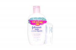 Crema Johnson's Baby Liquida Frasco Con 200 mL