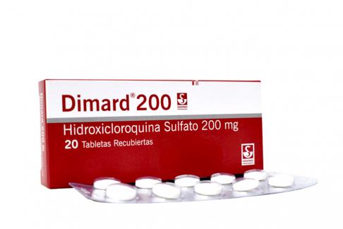 Dimard 200 mg Caja Con 20 Tabletas Rx4