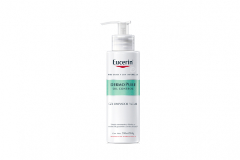 Eucerin Dermopure Oil Control Gel Limpiador Facial Frasco Con 200 mL