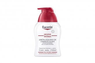 Jabón Líquido Eucerin Higiene Íntima Caja Con Frasco 250 mL