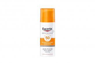 Protector Solar Eucerin Anti-Edad FPS 50 Caja Con Frasco 50 mL