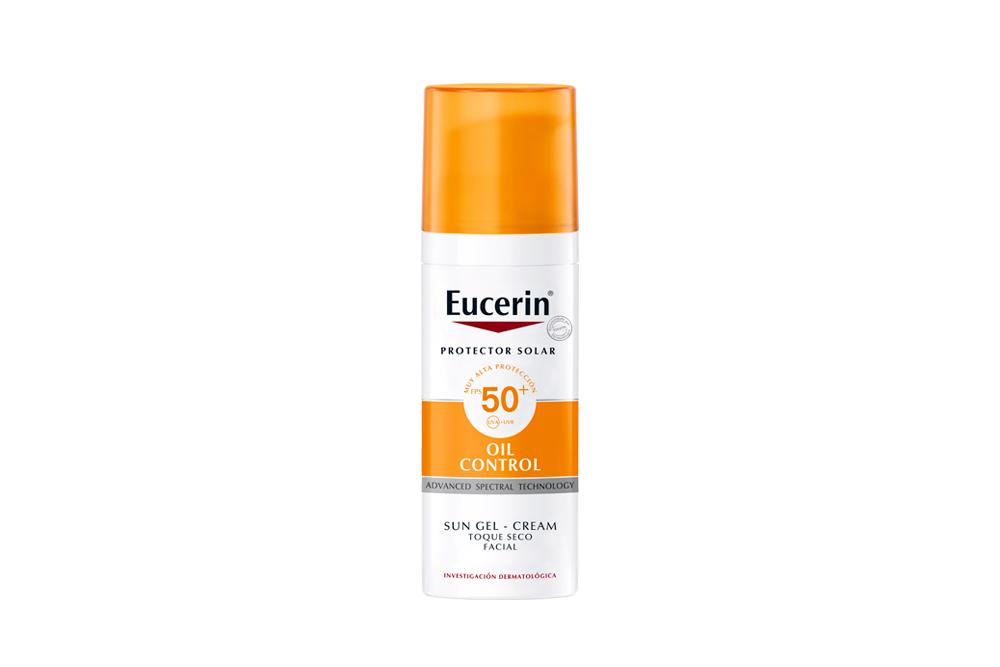 Eucerin Oil Control Gel Caja Con Tubo Con 50 mL / 52 g
