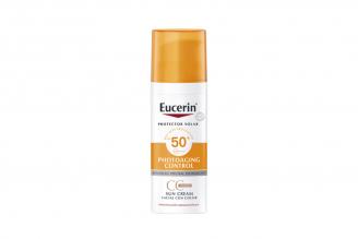 Eucerin Sun Creme FPS 50+ Color Tono Medio Caja Con Frasco Con 53 g