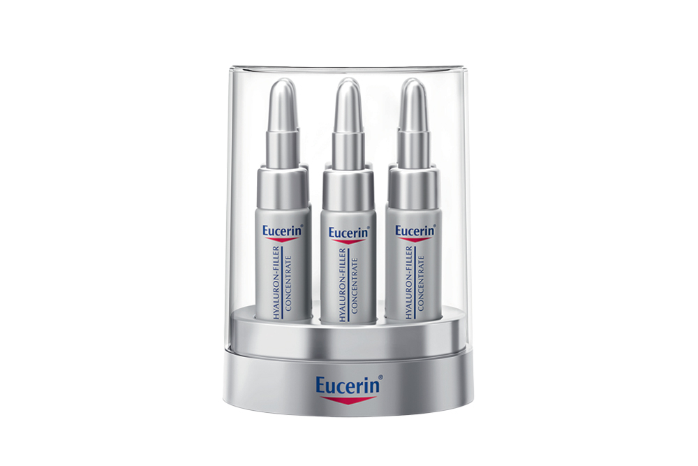 Eucerin Anti- Edad Hyaluron Filler Concentrate Empaque Con 6 Tubos Con 5 mL C/U