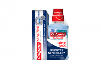 Colgate Sensitive Crema Con 50 mL + Enjuague Bucal Frasco Con 250 mL