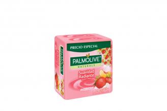 Jabón Cremoso Palmolive Yoghurt Y Frutas Empaque Con 3 Unidades Con 120 g C/U