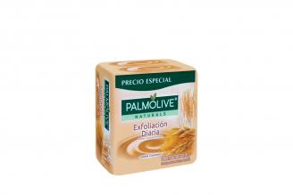 Jabón Cremoso Palmolive Avena Y Azúcar Morena Empaque Con 3 Unidades Con 120 g C/U