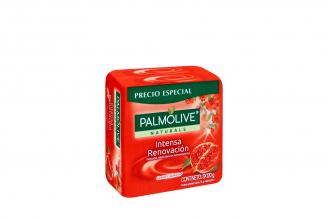 Jabón Cremoso Palmolive Granada Antioxidante Empaque Con 3 Unidades Con 120 g C/U