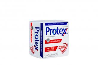 Jabón Protex Balance Saludable Empaque Con 3 Barras Con 120 g C/U