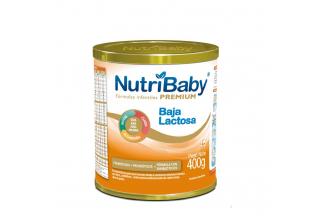 Fórmula Nutribaby Premium Baja Lactosa Tarro Con 400 g