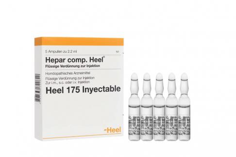 Hepar Compositum Caja Con 5 Ampollas Rx