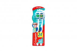 Cepillo Dental Colgate 360 Suave Empaque Con 2 Unidades
