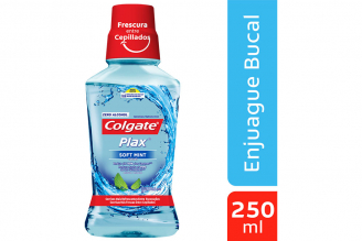 Enjuague Bucal Colgate Soft Mint Con Flúor Frasco Con 250 mL