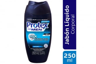 Jabón Protex Men Sport Ducha Líquida Frasco Con 250 mL