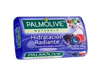 Jabón Palmolive Frutos Del Bosque Y Agua De Coco Empaque Con Barra Con 120 g