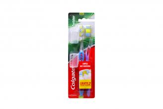 Cepillo Dental Colgate Twister Empaque Con 2 Unidades Con Portacabezas