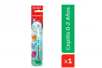 Cepillo Dental Colgate Bebes 0 a 2 años Empaque Con 1 Unidad