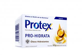 Jabón Antibacterial  Protex Pro-Hidrata Argán Caja Con Barra Con 90 g