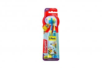 Cepillo Dental Colgate Niños De 6 Años En Adelante Empaque Con 2 Unidades