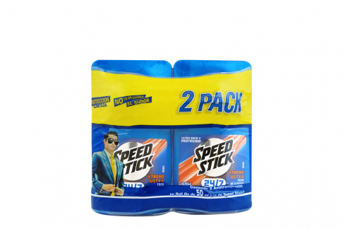 Desodorante Speed Stick Xtreme Ultra Empaque Con 2 Roll On Con 50 mL C/U