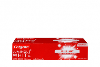 Crema Dental Colgate Luminous White Brilliant Caja Con Tubo Con 75 mL
