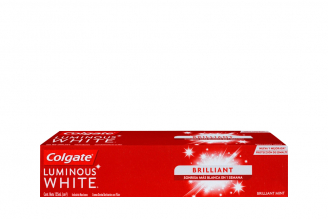 Crema Dental Colgate Luminous White Brilliant Caja Con Tubo Con 125 mL
