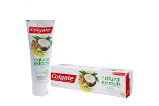 Crema Dental Colgate Natural Extracts Detox Caja Con Tubo Con 90 g