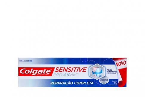 Crema Dental Colgate Sensitive Pro Alivio Reparación Completa Caja Con Tubo Con 110 g