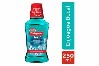 Enjuague Bucal Colgate Plax Ice Infinity Frasco Con 250 mL