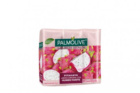 Jabón Cremoso Palmolive Pitahaya Humectante Empaque Con 3 Unidades Con 120 g C/U