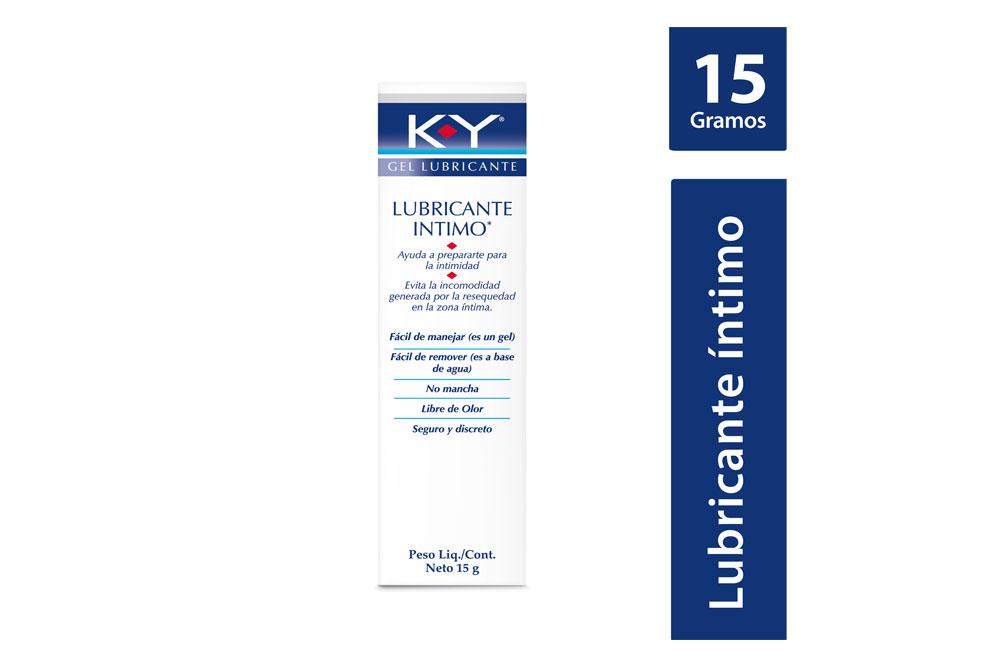 K-Y Gel Lubricante Íntimo Caja Con Frasco Con 15 g