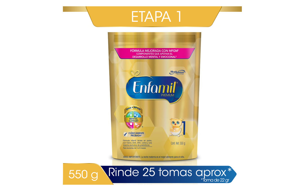Enfamil Premium 1 Bolsa Con 550 g