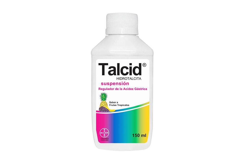 Talcid  Suspensión Frasco Con 150 mL – Sabor Frutas Tropicales