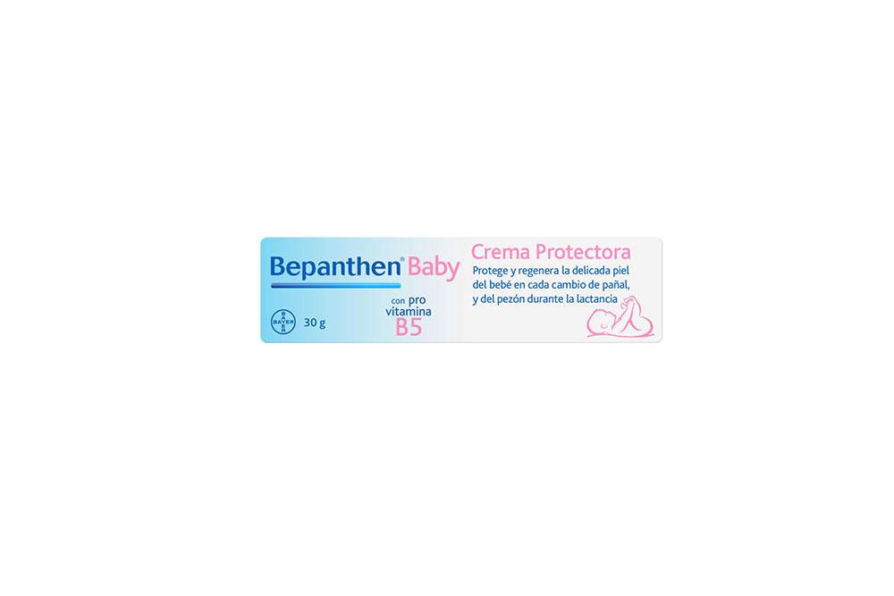 Crema Bepanthen Baby Caja Con Tubo Con 30 g