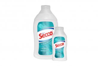Talco Desodorante Secco Frasco Con 300 g + Con 90 g