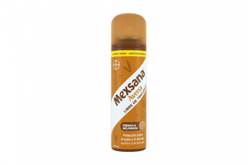 Desodorante Mexsana Avena Antibacterial Spray Frasco Con 260 mL