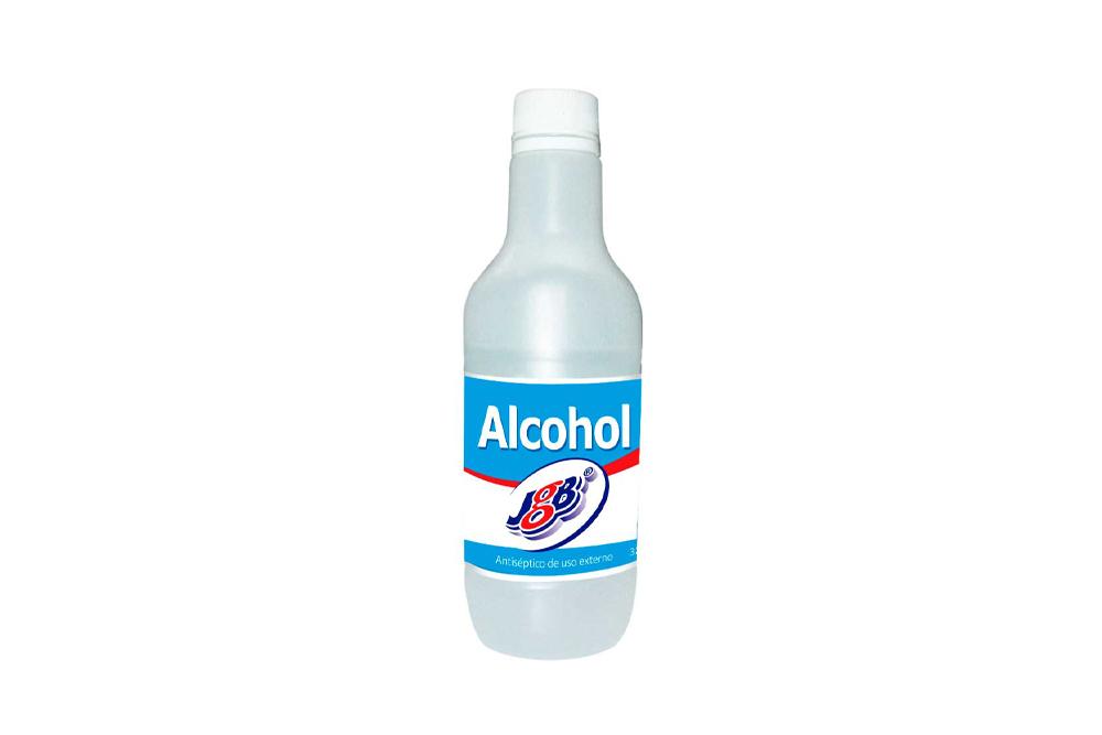 Alcohol Antiséptico JGB Frasco Con 350 mL
