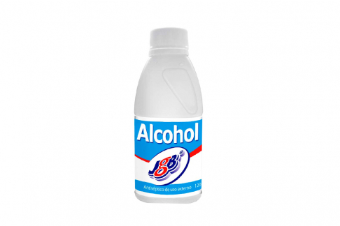 Alcohol Antiséptico JGB Frasco Con 120 mL