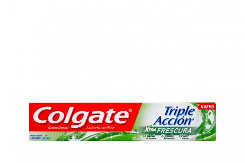 Crema Dental Colgate Xtra Frescura Triple Acción Caja Con Tubo Con 63 mL